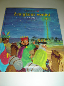 Lithuanian Children's Bible Series - Book 9 - Following the Star, The Story of the Birth of Jesus / Zvaigzdes Vedini - Kaledos