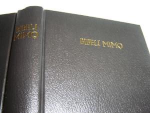Yoruba Black Hardcover Holy Bible / BIBELI MIMO Tabi Majemu Lailai Ati Titun / O.T. Reprinted from Edition of 1900