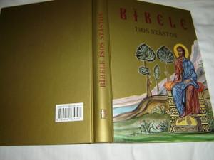 The Greek Orthodox Children's Bible in Latvian Language / Bibele isos stastos