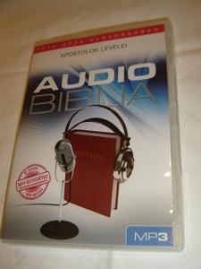 Audio Biblia Tóth Géza Eloadásában MP3 / Hungarian Audio Bible on MP3 CD/ Apostolok Levelei