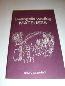 The Gospel of Matthew in Polish Language / Pocket Edition / Ewangelia wedlug Mateusza - Nowy Przeklad BFBS