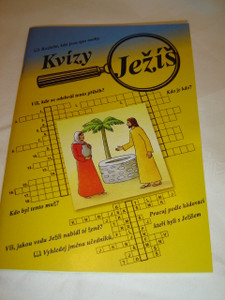 Czech Language Activity Book for Children in Sunday School - Quizzes from the Gospels / Jeí - kvízy