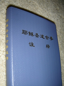 The Life of Christ / The Four Gospels with Study Notes and Explanations in Chinese Language