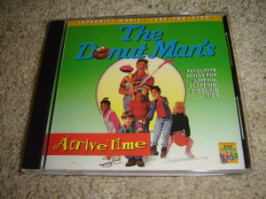 The Donut Man's Favorite Songs for Jumping, Clapping, Giggling Kids / ACTIVE TIME - Christian CD Just for Kids