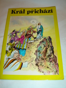 The King is Coming - Král prichází / Czech Language Comic Book for Children about the Birth and Early Ministry of Jesus