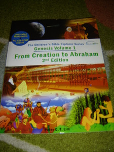 Genesis Volume 1 - From Creation to Abraham / The Children's Bible Explorer Series / Animated Multimedia PC DVD Inside