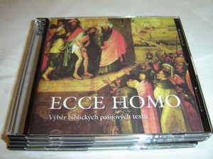 CZECH LANGUAGE MP3 NEW TESTAMENT with Bonus Booklet:  Behold the Man - A Selection of Biblical Text on the Passion: Ecce Homo