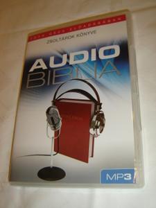 Audio Biblia Tóth Géza Eloadásában MP3 / Hungarian Audio Bible on MP3 CD/ Zsoltárok Könyve - Books of Psalms