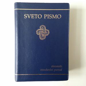 Slovenian Pocket Size Bible - Standard Version, Protestant / Sveto Pismo - Slovenski Standardni Perevod
