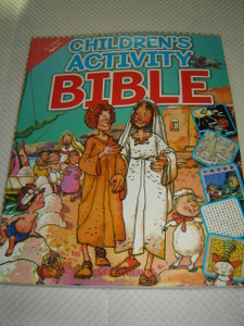 Children's Activity Bible For Children / Great for Children Ages 7 and Up