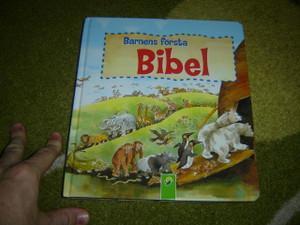 Swedish Language Children's Board book Bible / Great for 2-6 year olds / Barnens Forsta Bibel