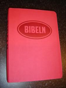 Swedish Bible for Young People / Bibeln from Bibelkommissinens oversattning (Pink Vinyl Bound)
