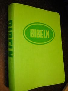 Swedish Bible for Young People / Bibeln from Bibelkommissinens oversattning (Green Vinyl Bound)