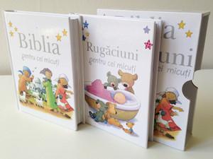Romanian Bible and Prayers for Little Ones / Biblia si Rugaciuni pentru cei micuti / Comes in a Protective box