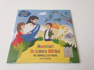 Adventures in the World of the Bible - In the Footsteps of Jesus / Romanian Language MP3 CD for Children