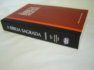 Burgundy Portuguese Bible Almeida Revised / Brazilian Portuguese: A Biblia Sagrada / Capa Vermelha