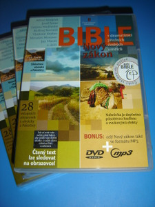 Czech Audio New Testament MP3 DVD / Novy Zakon V dramatizaci prednich