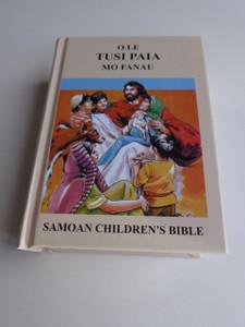 Samoan Children's Bible R43PC Revised Edition / O Le Tusi Paia Mo Fanau / Compact Size / Samoan Bible Text 1969 BSSP