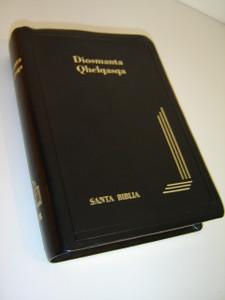 Bolivian Quechua Bible / Black Leather Bound / Diosmanta Qhelqasqa / Santa Biblia