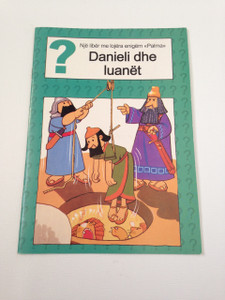 Daniel and the Lions - Danieli dhe Luanet / Albanian Language Booklet for Children