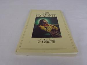 Finnish New Testament / Jesus in the Garden Cover / Getsemane Uusi Testamentti Ja Psalmit