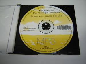 MP3 Audio Reading of Vietnamese Language New Testament Books:  Matthew, Mark, Luke, John