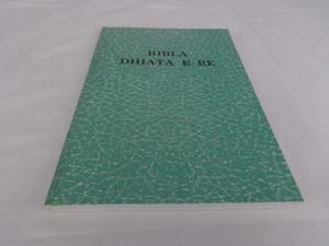 Albanian Language New Testament - Bibla Dhiata E Re / Great for Outreach