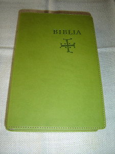 Slovak Bible, Green Leather – Old & New Testaments