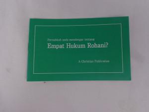 Have You Heard of the Four Spiritual Laws? - Malay Language Edition / Pernahkah Anda Mendengar Tentang Empat Hukum Rohani?