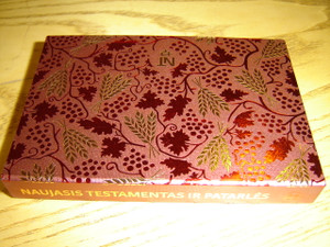 Lithuanian New Testament and the Book of Psalms - Naujasis Testamentas ir Patarliu knyga / Beautiful Pocket Size Edition for Ladies - NTP 214