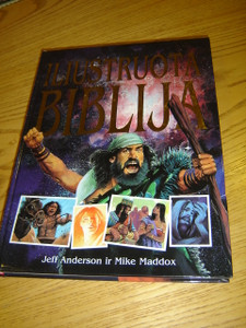 The Lion Graphic Bible in Lithuanian Language - Iliustruota Biblija / Graphic novel style - Designed for older children