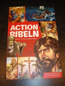 Actionbibeln: Nya Testamentet / The Action Bible New Testament, Swedish Edition 2012
