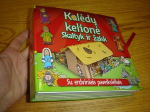 The Christmas Journey Storybook - With Pop-Up Play Scenes / Lithuanian Language Version / Kaledu Kelione Skaityk ir Zaisk - Su Erdviniais Paveiksleliais