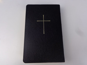 The Holy Bible in Persian Language / Black Leather Bound With Golden Cross / New Millennium Version / 2nd Printing / Great Gift for Iranians / Farsi Contemporary Bible