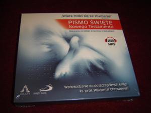 Pismo Swiete: Nowego Testamentu / Sacred Scriptures: New Testament / Polish Language Audio Bible MP3