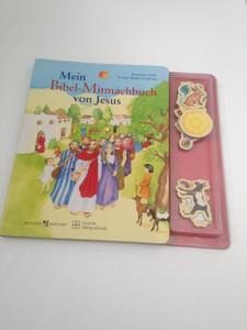 Mein Bibel-Mitmachbuch von Jesus / My Hands-On Bible Book of Jesus / German Children Bible with Magnetic Stickers, 2010 Edition