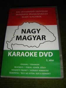 Nagy Magyar Karaoke DVD