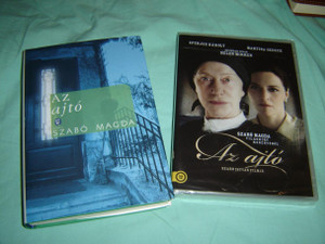 Az Ajto / Hungarian Language Book and The Door DVD / Hungarian Published Book and DVD Bundle / Szabo Magda / Director: Istvan Szabo