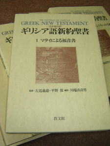 The Interlinear and Analytical Greek New Testament – Vol. 1: The Gospel of Matthew / Greek-Japanese Bilingual Edition 1991