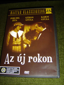 Az Uj Rokon (1934) – Regi Magyar Filmek / The New Relative (1934), Hungarian Edition / Black and White [DVD Region 2 PAL]