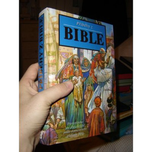 Czech Children's Illustrated Large Bible / Pribehy Z Bible [Hardcover]