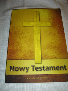 Pismo Swiete Nowy Testament / SUPER LARGE PRINT Polish Language New Testament, Paperback with Cross / Single Column Text and Cross References