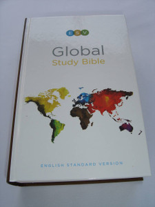 ESV Global Study Bible, Hardcover / English Standard Version / More than 120 maps and illustrations / Comes with a card that gives FREE access to the Online Global Study Bible