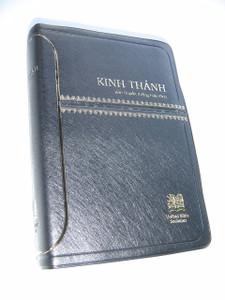 Vietnamese Black Embossed Leatherette Bible, Revised Vietnamese Version