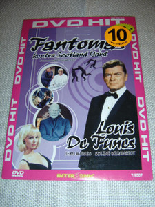 Fantomas contre Scotland Yard / Fantom kontra Scotland Yard (1967) / Louis De Funes / French and Czech Sound Option with Czech Subtitles [European DVD Region 2 PAL]