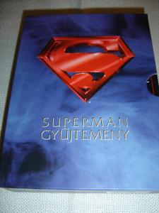Superman Collection: Superman – The Movie / Superman 2 / Superman 3 // ENGLISH and Spanish Sound Options / Hungarian, English and Spanish Subtitles [European DVD Region 2 PAL]