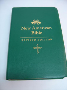 New American Bible – Revised Edition (NABRE) / Green Vinyl with Golden Edges / Translated from Original Languages with Critical Use of All Ancient Sources / NABRE 055 GE