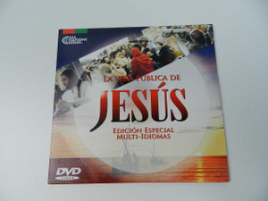 La Vida Publica de Jesús / Edición Especial Multi-Idiomas / Arabic, Spanish, Farsi, English, Portuguese, Somalia, Turkish and Urdu Audio / English and Spanish Subtitles [DVD Region 0 NTSC]