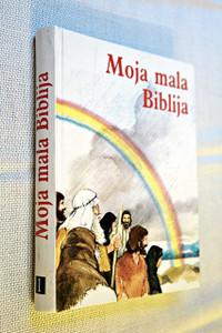 Croatian Edition of The Lion Story Bible, Vol. 1: The Old Testament / Croatian Kids' Illustrated Bible / Moja mala Biblija 1: Stari zavjet