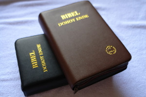 Batak Toba Language Bible with Hymnal